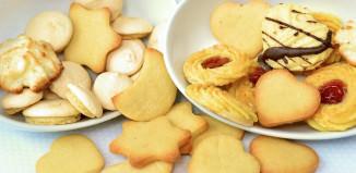 Biscotti di pasta frolla | B&B Montegallo