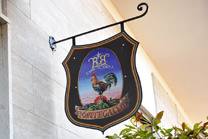 B&B Montegallo Osimo, signboard
