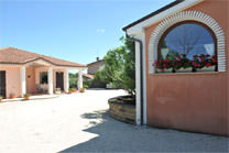 B&B Montegallo Osimo,external area of the bed&breakfastt