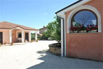 B&B Montegallo Osimo, area esterna del bed&breakfast